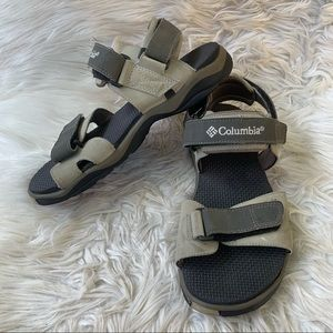 COLUMBIA Tan Whidby Sports Sandals Women Size 9